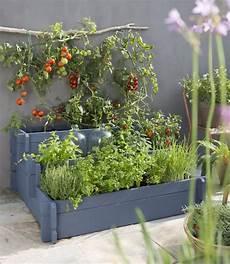 jardin potager sur terrasse cr 233 er un carr 233 potager pas cher et facile am 233 nagement