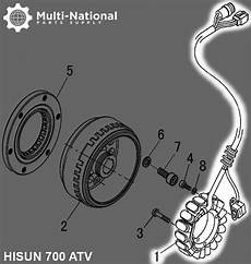 For Massimo 5 Wire Regulator Wiring Diagram by Stator Magneto Coil 18g 5 Wire 500 700cc Hisun