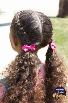 zipper braid hairstyle curly hair weather anchor