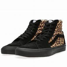 vans sk8 hi leopard black