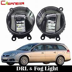 cawanerl for opel vectra c 2002 2008 car led fog light drl
