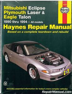 free online auto service manuals 1993 mitsubishi eclipse navigation system 1990 1994 haynes mitsubishi eclipse plymouth laser eagle talon auto repair manual