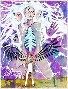 angel of the lord pseudo true form by chupu on deviantart