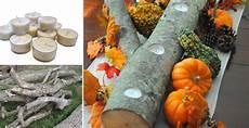 herbstdeko holz selber machen how to make wood fall centerpiece diy crafts handimania