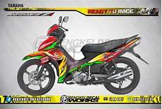 Stiker Jupiter Z Modif by Jual Stiker Yamaha Jupiter Z Z1 Roadrace Balap Merah Di
