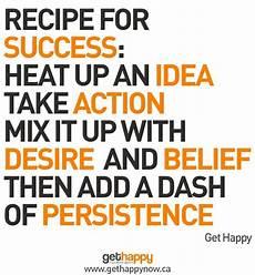 recipe for success quotes quotesgram