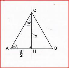 exakten wert f 252 r winkel berechnen gleichseitiges dreieck