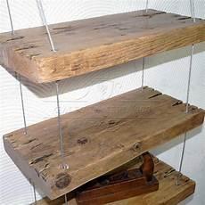 mensola legno massello mensola vintage in legno massello con cavi falegnameria900