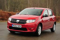 Dacia Sandero 12  Cheapest Cars To Insure