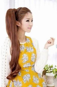 2019 latest korean women hairstyles for long hair