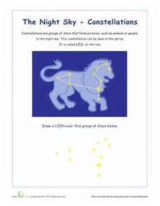 constellation of pisces worksheet pisces constellations teaching space planets earth