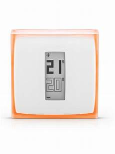 Thermostat D Ambiance Netatmo Pour Smartphone Edilkamin