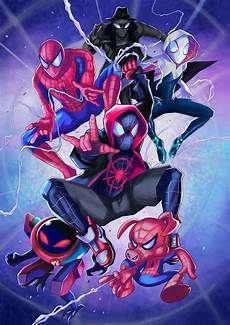 into the spider verse by lillidan86 on deviantart