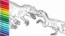 dinosaurier ausmalbilder tyrannosaurus rex kinder
