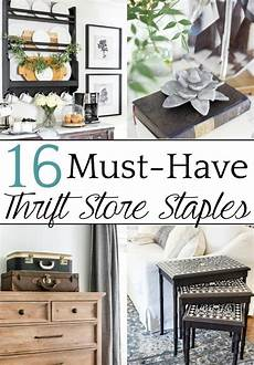 16 must have home decor thrift store staples easy home decor diy home decor decor