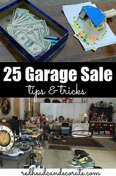 25 Garage Sale Tips At The Picket Fence