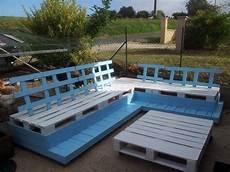 Fabrication En Palette D Un Salon De Jardin
