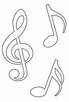 noten malvorlagen ausdrucken noten notenschl 252 ssel vorlage pochoir dessin musique et