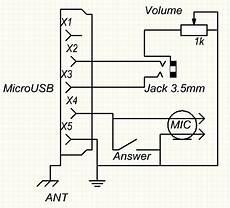 microusb to 3 5 or 2 5 jack headset pinout diagram pinoutguide com