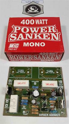 400 watt lifier kit jual kit driver power amplifier sanken mono 400 watt di lapak dina elektronik imamrofii
