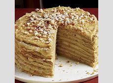 coffee cream layer cake_image
