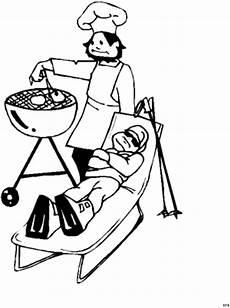Malvorlagen Kostenlos Grillen Skifahrer Am Grillen Ausmalbild Malvorlage Comics