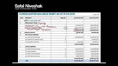 how to read a balance sheet part 1 youtube