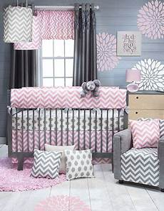Baby Bedroom Ideas Pink And Grey by Pink And Grey Chevron Nursery For The Nursery