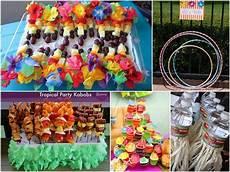 organiser une fête d anniversaire de l inspiration pour organiser une f 234 te d enfants hawaienne fete denfants fete enfant et