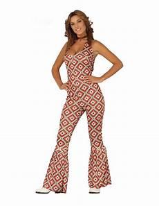 disco damen disco jumpsuit f 252 r damen faschingskost 252 m bunt g 252 nstige