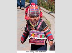 Thailand child in traditional dress. Thailand Southeast