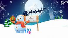 snowman merry christmas wallpapers hd wallpapers id 10574