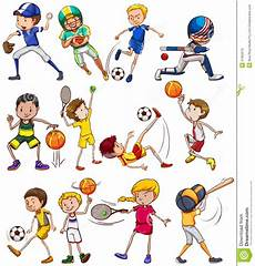 Sports Stock Vector Illustration Of Series Exercise