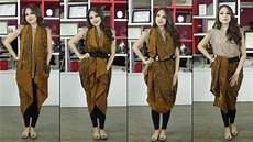 Dress Batik Pesta Simple Elegan Koleksi Rina