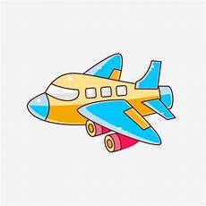 Gambar Kapal Terbang Kartun Hari Kanak Kanak Hari Kanak