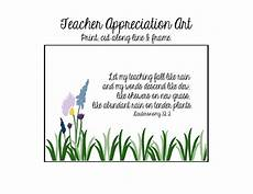 teacher appreciation gift gift card holder free