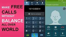 landline number to mobile make free unlimited calls in all world on mobile