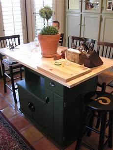 Kitchen Island Cart Diy by Dusty Coyote Turning A Kitchen Cart Into A Table Kitchen
