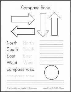 primary directions worksheets for grade 3 11693 diy compass road for primary grades social studies geography free template to create a compass