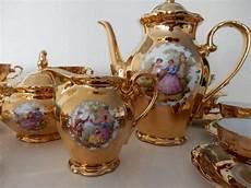Antique Coffee Service 12 Porcelain Bavaria