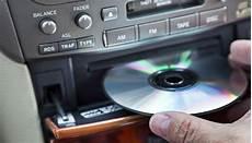 inserting cd in car player