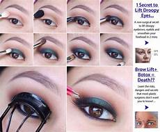 80 Best Makeup For Droopy Eyelids Images On