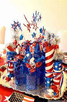 Decorating Ideas For July Fourth by Decorating The Table For 4th Of July Toot Sweet 4 Two