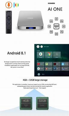 Scishion Rk3328 32gb Bluetooth Usb3 Android by Scishion Ai One Rk3328 4gb Ram 32gb Rom Bluetooth 4 0 Usb3