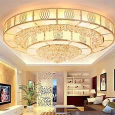 moderne deckenleuchte wohnzimmer moderne led deckenleuchte kristall rund f 252 r wohnzimmer