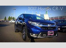 2017 Honda CR V EX L 1.5 L Turbocharged 4 Cylinder Review