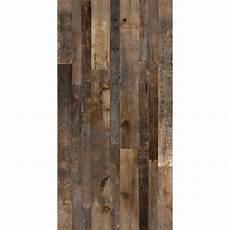 revetement bois mural 111593 mur design rev 234 tement mural imitation bois de grange 48 po x 96 po brun panmebgb rona