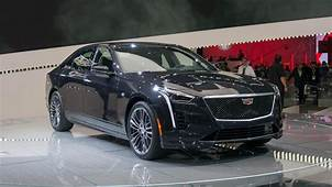 2019 Cadillac CT6 V Sport Gets 550 HP Twin Turbo V8  Roadshow