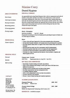 dental hygiene resume hygienist template exle description healthcare expertise filling