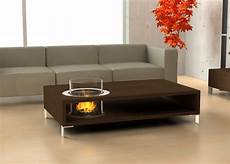 Table Basse Cheminee Bio Ethanol